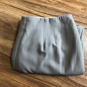 EUC Talbots Wool Blend Tan Italian Fabric Size 16